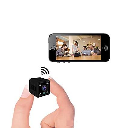 Mini Camara espia WiFi Mini Camaras de vigilancia espias Ocultas con WiFi mas pequeñas, con