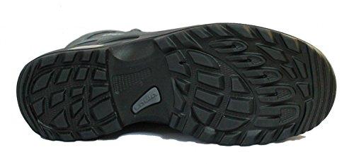 Lowa–Zapatillas de Stratton de trekking DLX GTX MID All Terrain Antracita/Azul - anthrazit/blau