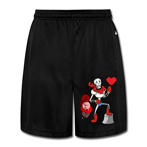[DW Athletic Men's Undertale Papyrus Mesh Shorts With Pockets - XX-Large] (Tim Drake Costume)