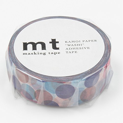 Mt Washi Masking Tape Spot Blue (MT01D118) by MT