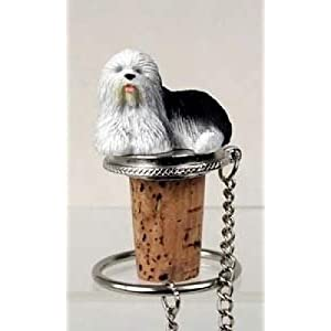 Conversation Concepts Old English Sheepdog Bottle Stopper 32