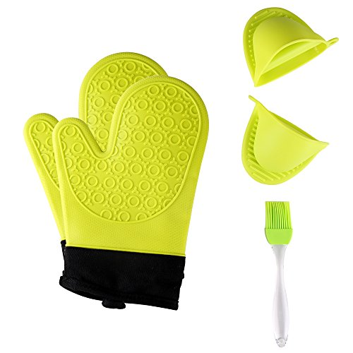 Jonhen Silicone Oven Mitts Resistant