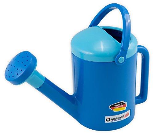 Spielstabil Blue Watering Can Pirate - 1 Liter (Made in Germany) by Spielstabil