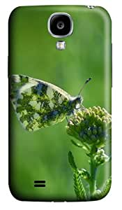 Samsung Galaxy S4 Case and Cover - Armenia Butterfly Polycarbonate Hard Case Back Cover for Samsung Galaxy S4/ SIV / I9500
