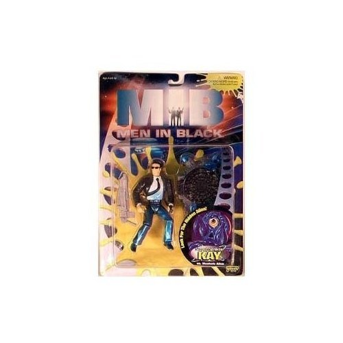 MIB: Men in Black Standard Edition Kay vs Manhole Alien Action Figure Set