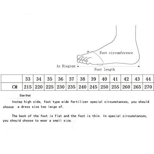 Lentejuelas tac Sexy Zapatos Oto con o Stiletto 2018 de Zapatos Primavera Individuales de Mujer OY8PnqOB