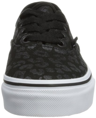 Vans Authentic, Zapatillas Unisex Bebé Negro (Glitter Cheetah/Black)