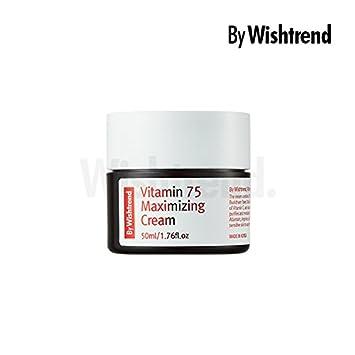 BY WISHTREND Vitamin 75 maximizing cream, facial cream, vitamin c cream, 50ml
