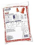 Honeywell MAX-LS4-REFILL Howard Leight Earplug Dispenser, Orange, (Pack of 2000)