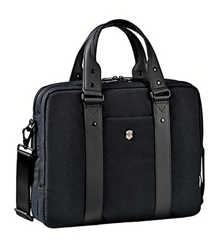 Victorinox Architecture Urban Bodmer 14 Laptop Briefcase, Black, One Size ()