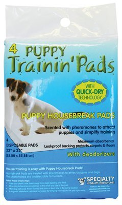 Puppy Housebreak Pads with Deodeorizers nrexie495-Bark Collars