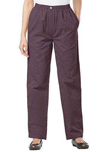 Petite Woven Jeans - 1