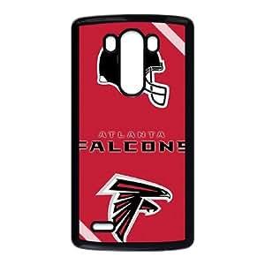 Atlanta Falcons Team Logo LG G3 Cell Phone Case Black yyfabc-367756