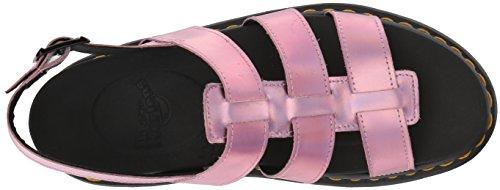 Sandales Yelena W Dr Martens metallic Pink x4ZqBwgO