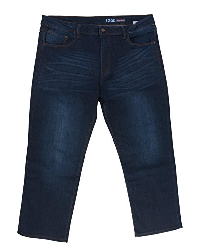 IZOD Big Men's Comfort Stretch Straight Fit Jeans