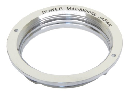 Bower Minolta MD Mount to M42 Screw Mount Adapter (ABSMD)