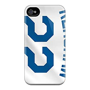 Perfect Cell-phone Hard Cover For Iphone 6plus With Customized Vivid Los Angeles Dodgers Image JonathanMaedel