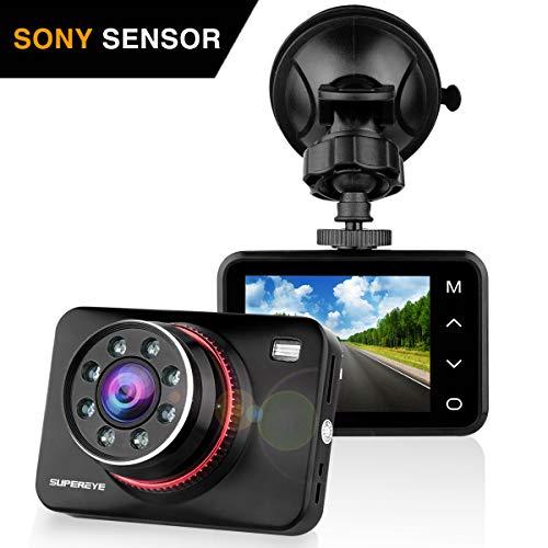 SuperEye Dash Cam Car Camera Night Vision Car Video Recorder In Car Dashcam...