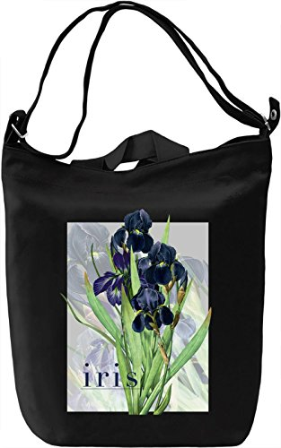 Iris Borsa Giornaliera Canvas Canvas Day Bag| 100% Premium Cotton Canvas| DTG Printing|