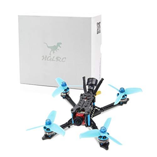 (Pandamama HGLRC Arrow 3 FPV Racing Drone 4S PNP Quadcopters F4 FC 1408 Motor 45A Blheli32 4 in 1 ESC 4mm Frame Caddx Ratel Camera)