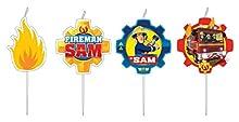 Firmeman Sam, 9902187 Set de 4 velas