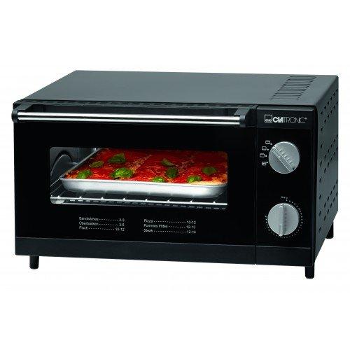 Clatronic MPO3464 - Horno pizza, capacidad 12 L, 230 V, 1000W ...