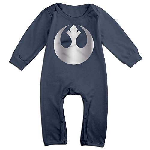 Padme Amidala Outfits (Baby Boys' REBEL Alliance Platinum Style Romper Jumpsuit Outfits)