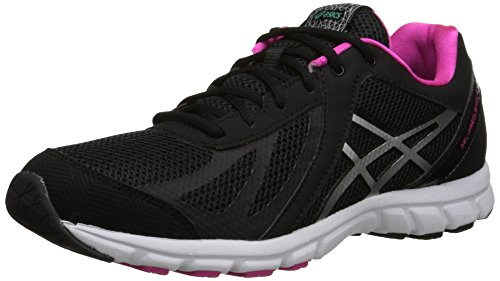 ASICS Womens Gel Frequency 3 Walking Shoe Black/Silver/Pink 6p54zC8M4