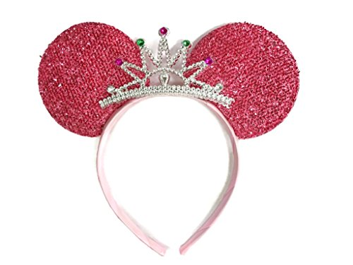 MeeTHan Mickey Mouse Ears Headband Minnie Mouse ears Tiara headbands : M6 - Sale For Ireland Tortoise