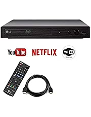 LG BPM35 / BP350 Blu-ray Disc Player with Streaming Services and Built-in Wi-Fi, 6FT HDMI Cable Included (Renewed)