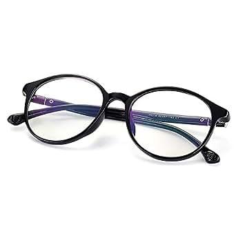 Amazon.com: Fake Glasses Vintage Round Eyewear Frame