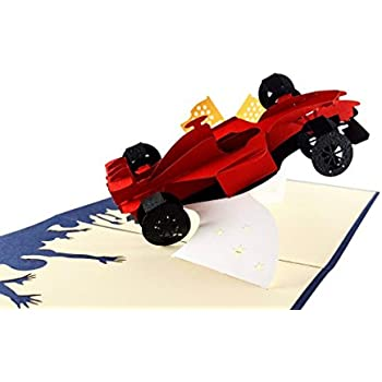 Amazon Igifts And Card Formula One 1 Racer 3d Pop Up Greeting