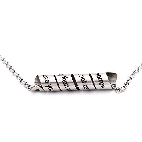 N egret Messages Handmade Stainless Necklace product image