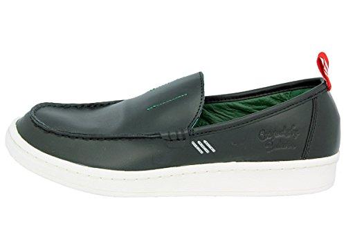 adidas Originals BW LOAFER Schwarz Leder Herren Loafer Schuhe Bedwin and The Heartbreakers Tokyo Neu