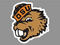Oregon State Beavers Official NCAA 4 inch x 4 inch Die Cut Car Decal by Wincraft