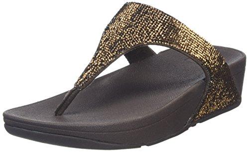 Electra Bronze Marrón Chanclas Fitflop para Mujer Micro UxnZwFOqT