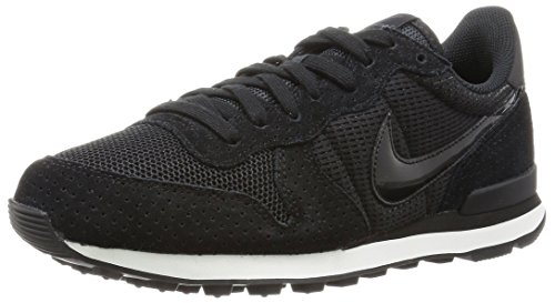 dark White black Nero Donna Nike Internationalist summit black Sneaker Grey fSwYwq