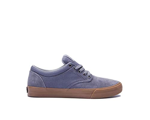 17a86258bbbf Supra Mens Chino Grey Gum Skate Shoes  Amazon.co.uk  Shoes   Bags