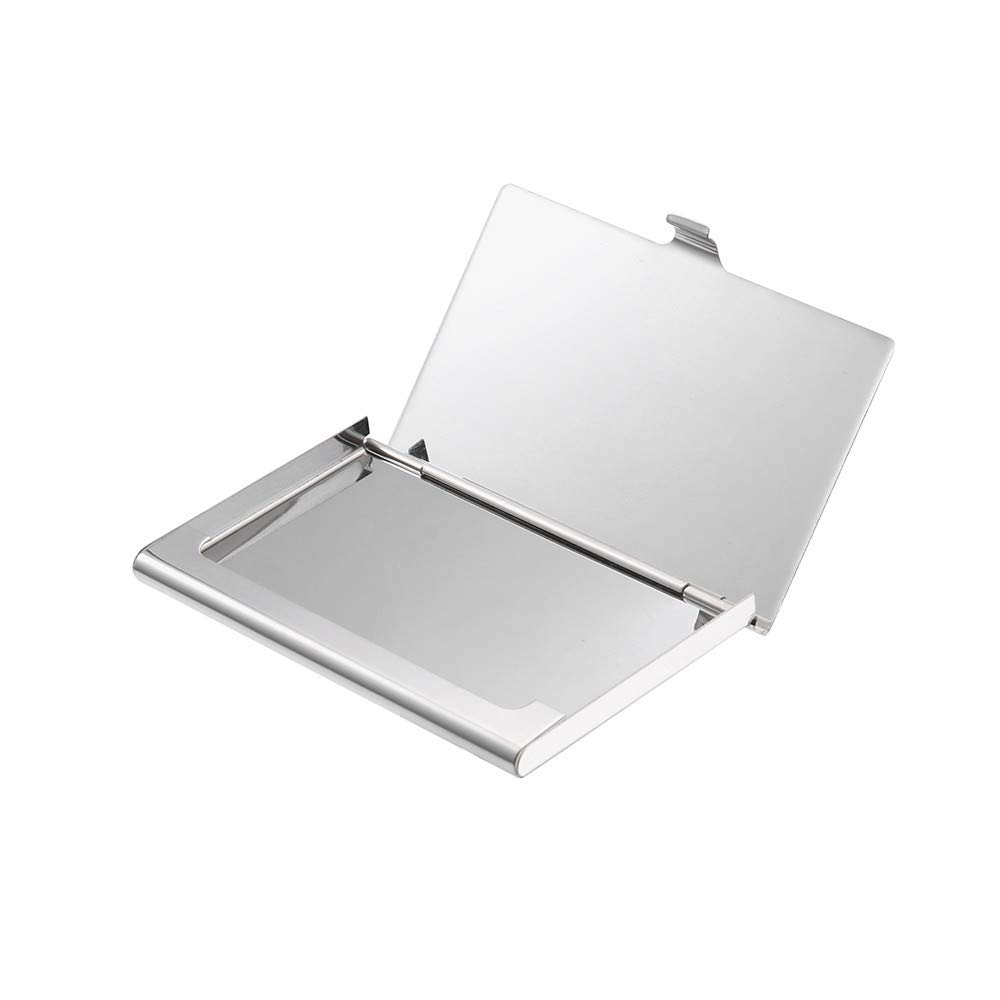 Best Mens Credit Card Holder For Sale!melupa Stainless Steel Drop Glue Metal Cover Credit Business Card Wallet