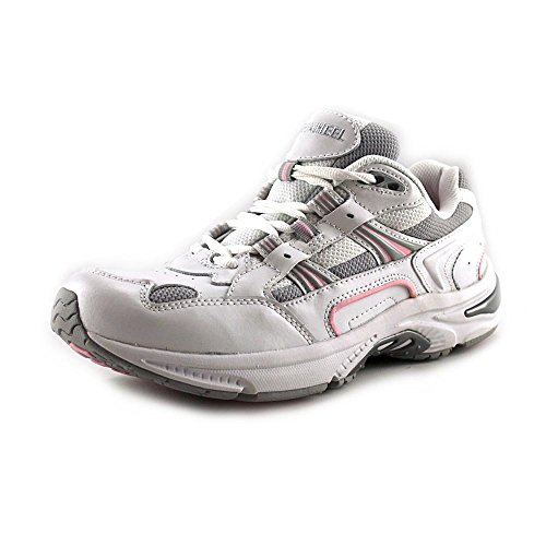 Vionic Orthaheel Women's Action Walker Shoes, White/Pink,...