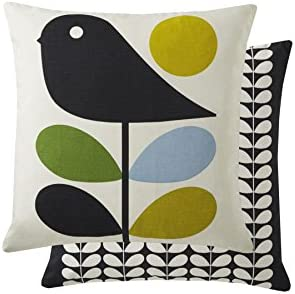 Orla Kiely Filled Early Bird Duck Egg Blue Green 18 45CM Feather Cushion Pillow CASE SHAM