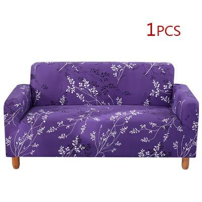 XGM GOU Funda de sofá elástica con diseño de Hojas para ...