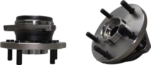 Jeep Hub Assembly (Brand New (Both) Front Wheel Hub and Bearing Assembly 1999-04 Jeep Grand Cherokee 5 Lug (Pair) 513159 x2)