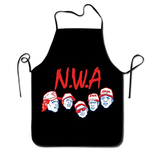 N.W.A Hip Hop Group Cooking Apron,bib Apron,kitchen Aprons For Women And Men (Gangsta Lady Costume)