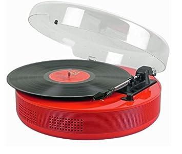 Steepletone DiscGo - Reproductor de discos con tocadiscos ...