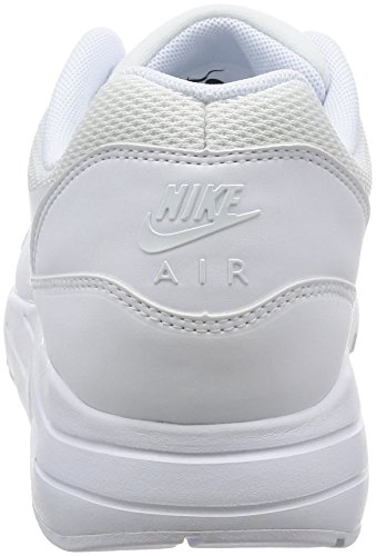 Nike Air Max 1 Ultra 2.0 Essential, Zapatillas para Hombre Bianco (White/White/Pure Platinum)