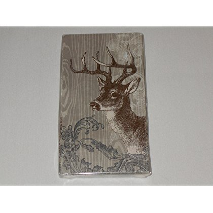 cr-gibson-lodge-deer-guest-dinner-napkin-16-count