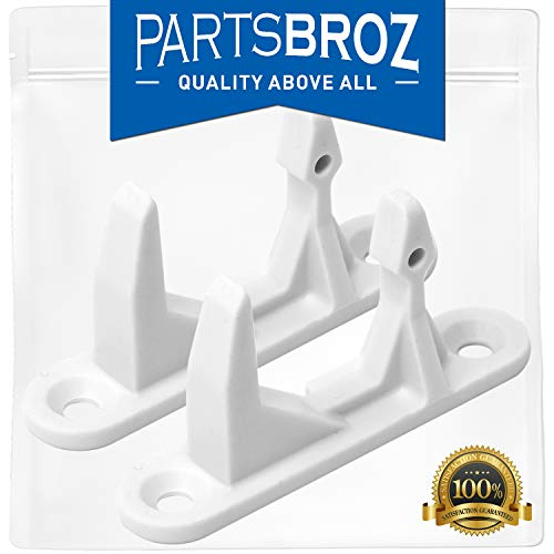- 131763310 Washer Door Striker for Frigidaire & Kenmore Washing Machines by PartsBroz - Replaces Part Numbers AP3580441, 134456600, 1032664, 131763300, AH890617, EA890617, PS890617 (Pack of 2)
