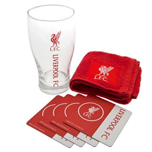 Official Football Team EPL Gift Liverpool F.C. Mini Bar Set by Liverpool F.C