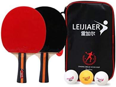 YUYAXQP PortátilRaqueta De Tenis De Mesa Ping Pong Ittf Raqueta De ...